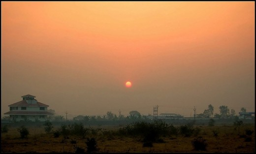 Sunset - Poona (Pune)