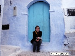 Chefchaouen: a tinny village in North Morocco's Rif Mountains.