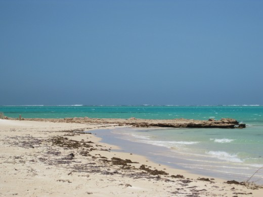 Is this your ideal beach ? or ......