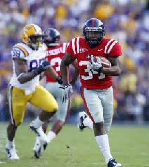 RB Brandon Bolden (Ole Miss)