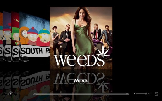 We caught up on season 6 of Weeds tonight.