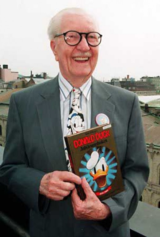 Carl Barks in later years (Scanpix/Reuters)