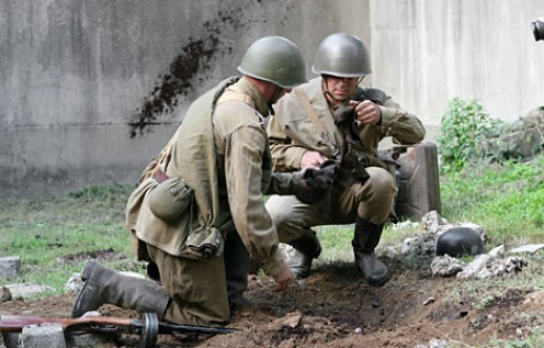 Soviet excavation of Hitler's body