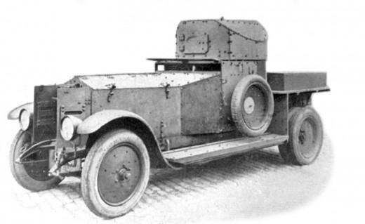 Rolls-Royce Armoured Car, 1920