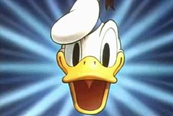 Donald Duck..spawned the Donaldist movement