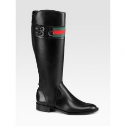 Gucci Tall & Short Heritage Riding Boots