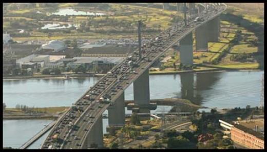 Melbourne's Westgate bridge. Image by Pat Scala