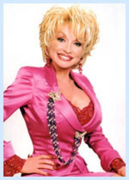 Darling Dolly ... a woman with a sense of humour about herself.