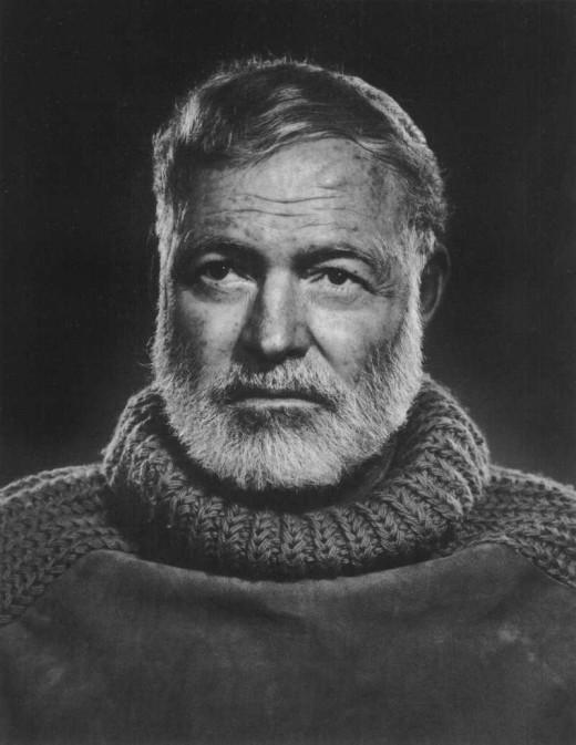 Ernest Hemingway.