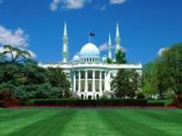 White house turned into a Mosque