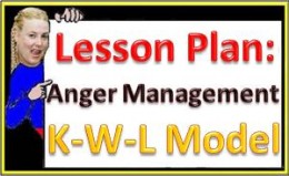 K-W-L Model discussion for Anger Management lesson