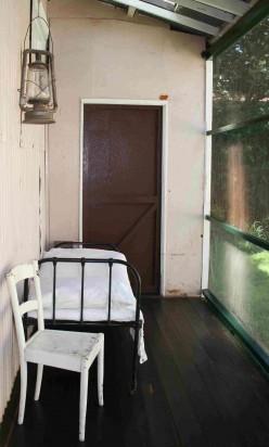 Smuts's bed at Doornkloof