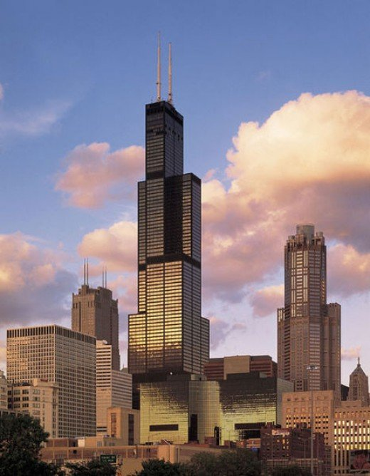 Sears Tower - now, Willis Tower