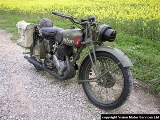 Norton 16H Motor Bike