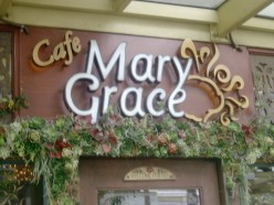 Dining in Cafe Mary Grace, Serendra
