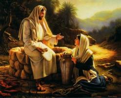 The Samaritan Woman's Encounter of Jesus, The Christ