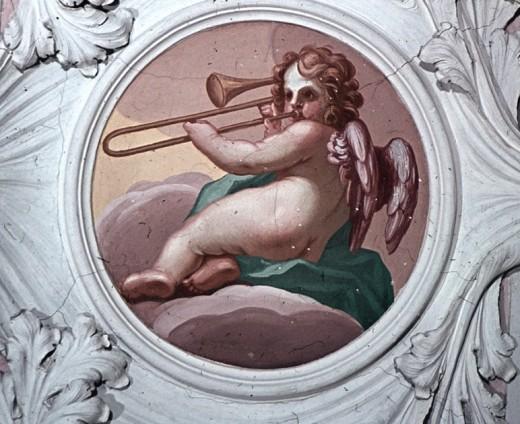 Carlo Ludovico Castelli, painting in Saalfeld's Schlosskapelle