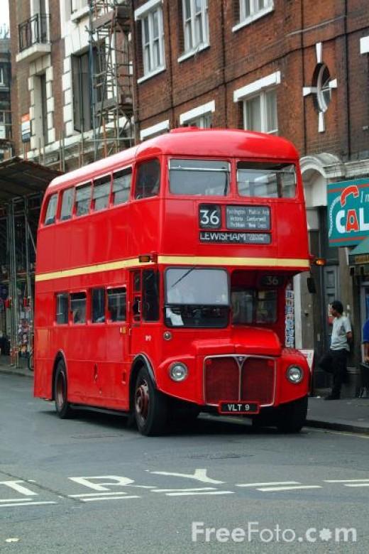 Double Decker Bus in London