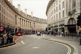 A Street in London City