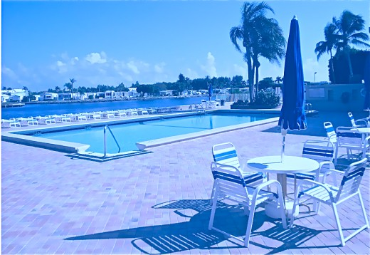 The Famous Pool  by The InterCostal Waterway Photo by Stephan