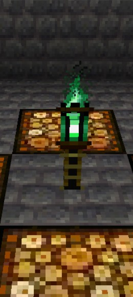Green torches! It all seems so obvious now!