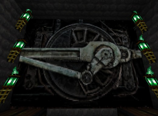 Picture from Glimmar's Steampunk HD Minecraft texture pack. For more Minecraft modding tools, visit: