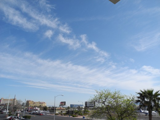 """Freshly sprayed aerosol chemtrails quickly morph into clouds that are often mistaken for """"Real Clouds"""", but... they are not."""