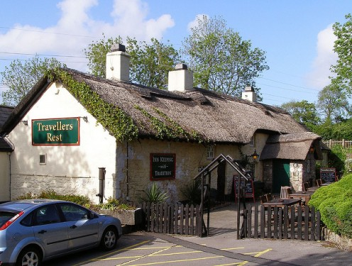 The Traveller's Rest, Cardiff, Wales