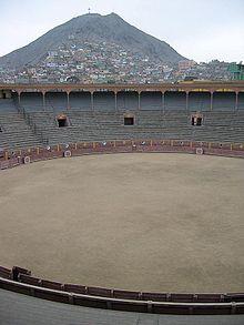 Plaza de Acho in the Lima suburb of Rimac.