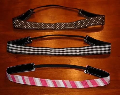 diy fabric headbands at Sweat Pea