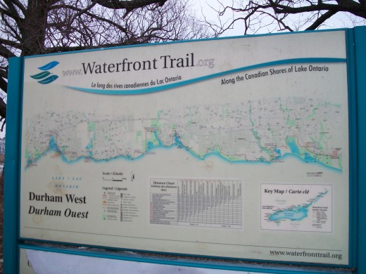 At the Waterfront Trail in Ontario's Durham Region