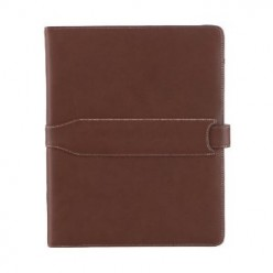 M-Edge Executive Jacket - Leather iPad Case with Storage and Works as iPad Stand