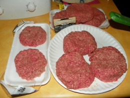 Step 2 - Form beef into patties