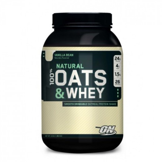 Optimum Nutrition Oats and Whey is 100% natural.