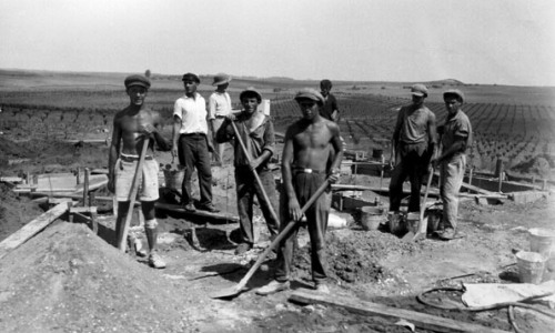 Jewish immigrants who arrived in Palestine during the first Aliyah