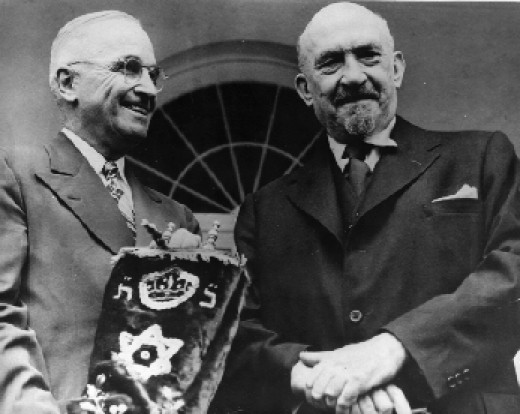Truman and Chaim Weizmann