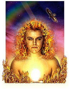 "Lugh the celtic sun God who many say is just another name for Lucifer! He is also called ""The Shining One"" or ""The Light Bearer"""