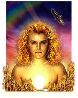 """Lugh the celtic sun God who many say is just another name for Lucifer! He is also called """"The Shineing One"""" or """"The Light Bearer"""""""