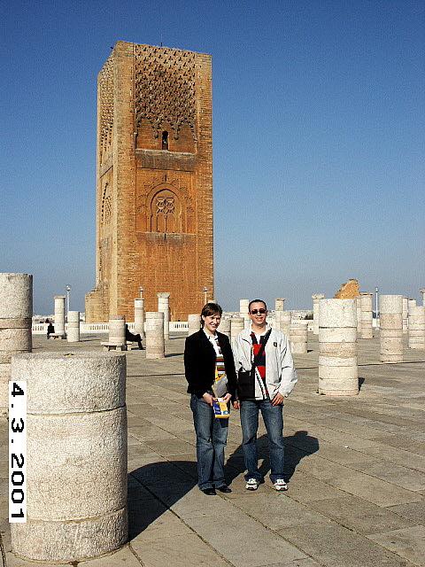 Le Tour Hassan, Rabat, Morocco.