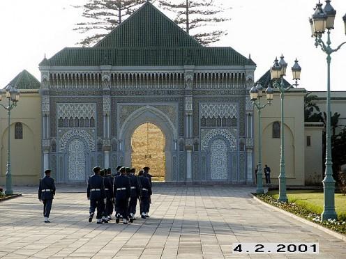 Moroccan Royal Architecture, Rabat, Morocco.