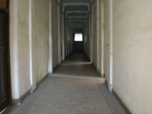 A mysterious hallway.
