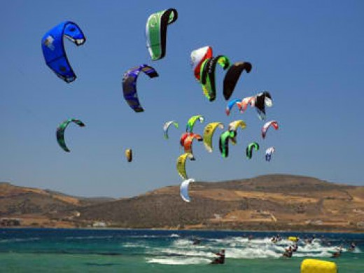 Kiteboarding Racing