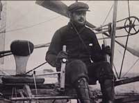 Charles Rolls, shortly before he was killed.