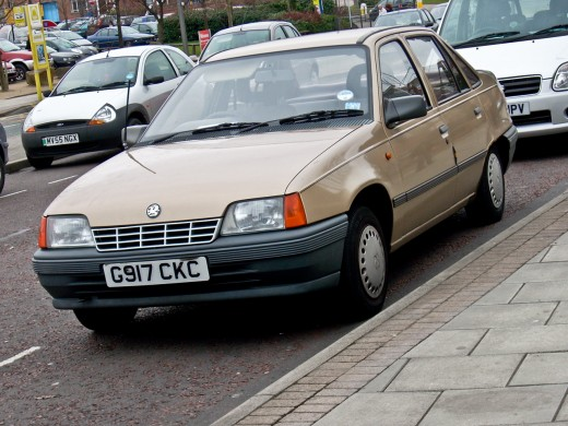Vauxhall Belmont. Note: Lack of 'Joy'