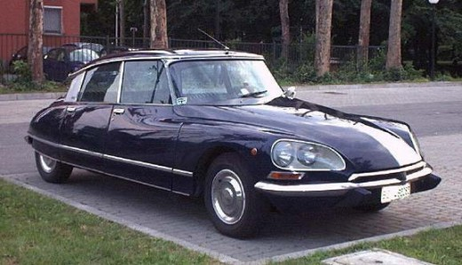 Citroen DS - Also 3rd in the Car of the Century competition!