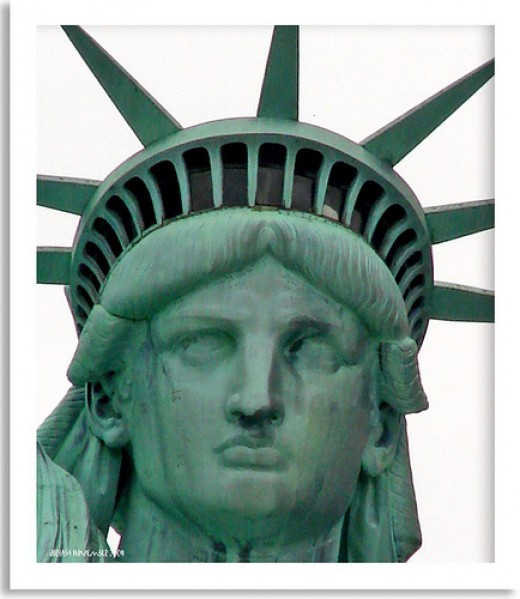 Statue Of Liberty Head And Crown Lady liberty s designerStatue Of Liberty Head And Crown