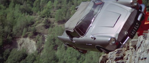 Lancia Appia/Aston Martin DB4 that was destroyed in the Italian Job