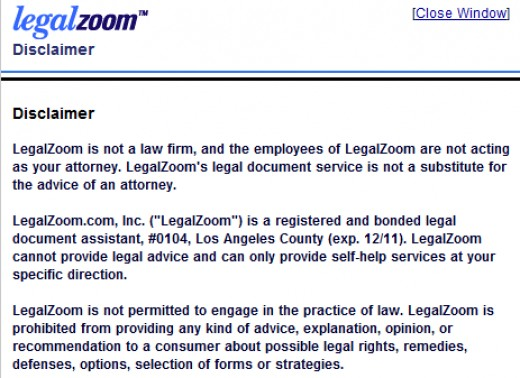 "LegalZoom admits they are not a law firm and can't give legal advice. So, 80% OF PEOPLE MAKE MISTAKES WITH DIY WILL/TRUST FORMS & AT LEGALZOOM ATTORNEYS DO NOT ACTUALLY ""DRAFT"" YOUR DOCUMENTS, TO HELP CORRECT THAT SHOCKING REVELATION."