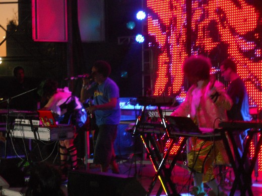 AfroBeta performing Ultra 2011