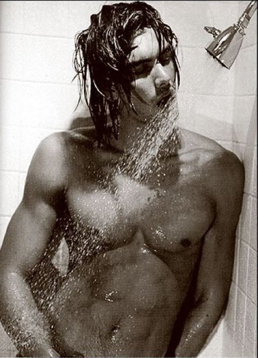 obligatory male in the shower- Even if the Imp may want you to think so, This ain't me. sorry.